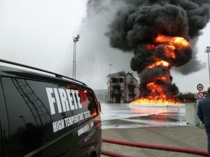 blusdeken dieselbrand