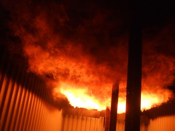 flashover containers