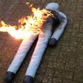brandweer oefenpop