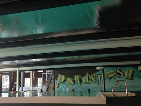 ponderosa plafond zwembad