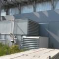 IInnovatief brandwerend stralingsscherm met lichtgewicht schuifdeur tegen brandoverslag