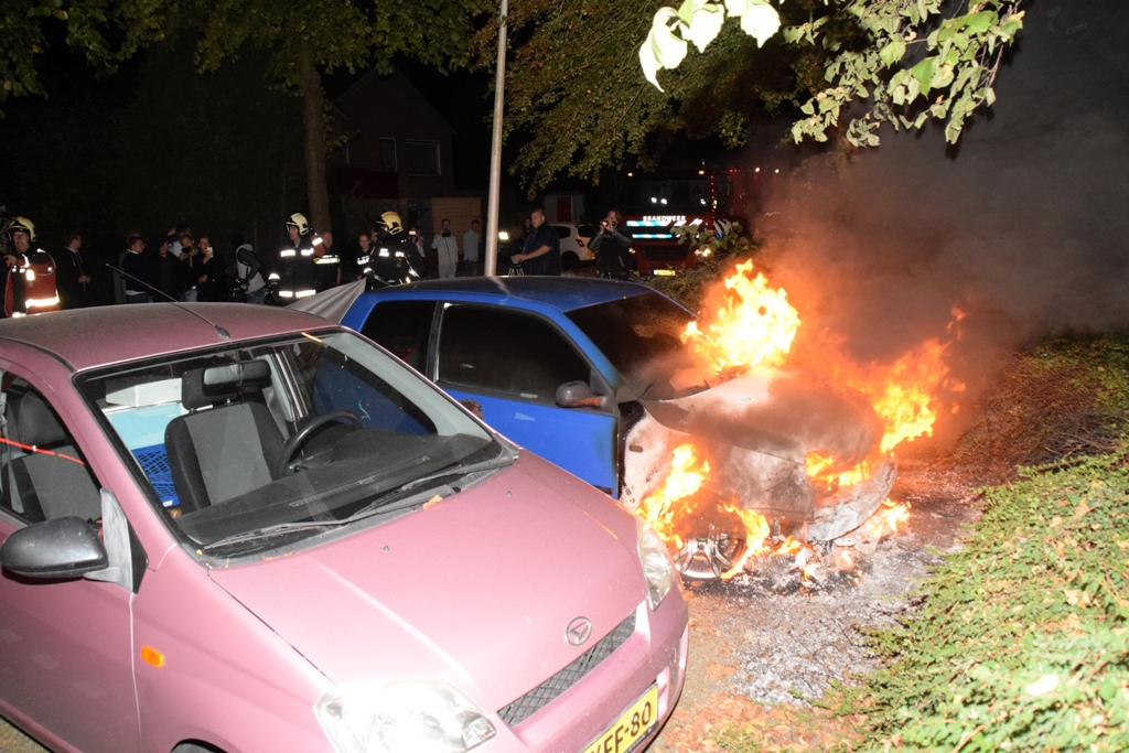 blusdeken autobrand