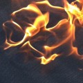 Frituurpan brand blusdeken