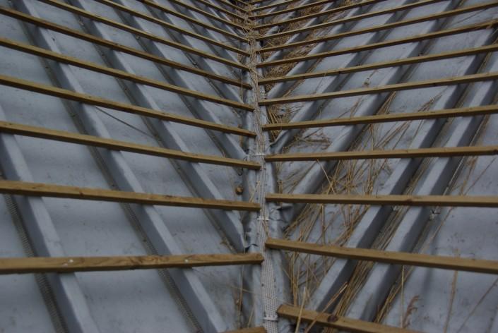 Firetexx onder rieten daken